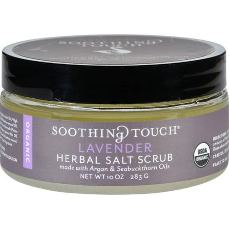 Soothing Touch Scrub - Organic - Salt - Herbal - Lavender - 10