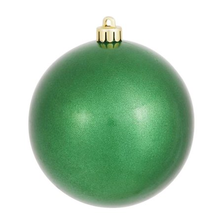 Green Candy Finish Ball Ornament - 8 in.