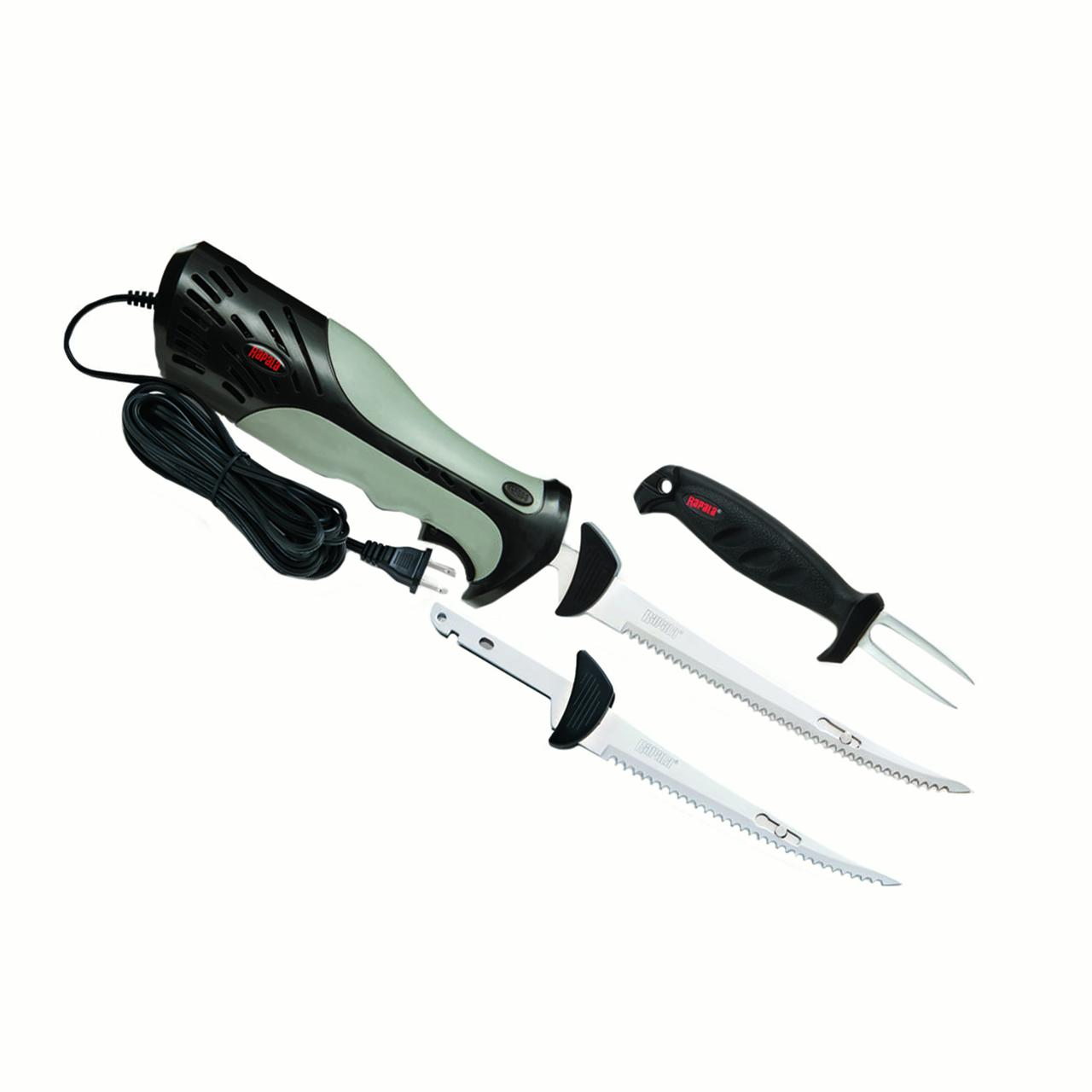 Rapala Heavy Duty Electric Knife Fillet, Combo
