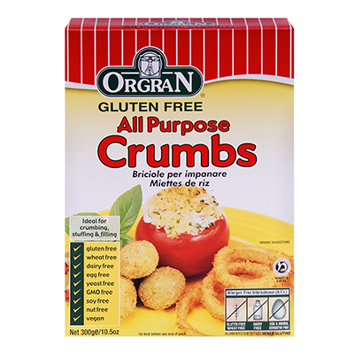 Orgran All Purpose Rice Crumbs Gluten Free - 10.5 Oz - (Pack of 1)