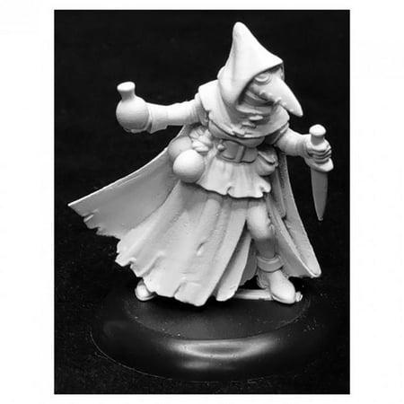 Reaper Miniatures REM07017 Dungeon Dwellers - Sister Hazel, Plague Doctor - Figures Dungeon Dweller Props Wall