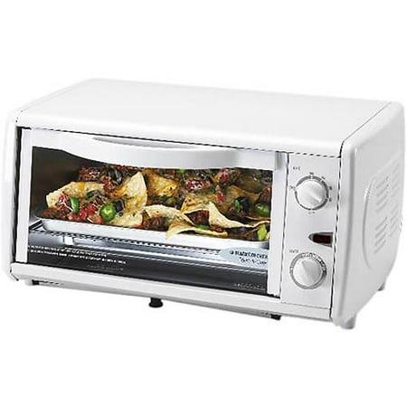 Black Amp Decker Toaster Oven White Walmart Com