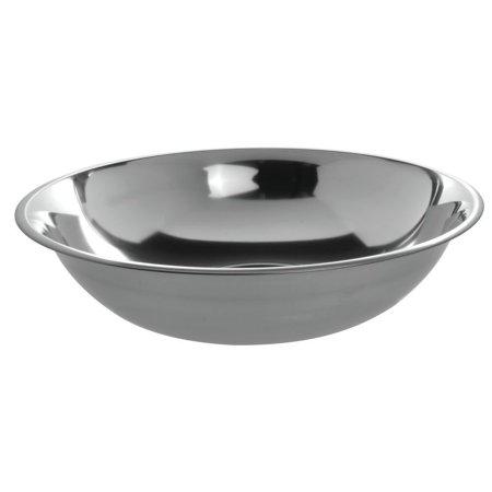 Bowl 15 Gauge (HUBERT Mixing Bowl 10 Quart 24 Gauge Stainless Steel - 15 1/4