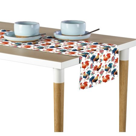 Rise & Shine Rooster Table Runner 12