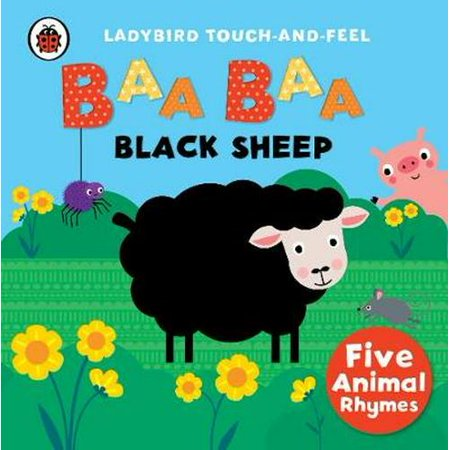Baa, Baa, Black Sheep: Ladybird Touch and Feel Rhymes (Ladybird Touch & Feel Rhymes) (Board book)](Halloween Touch And Feel Game With Story)