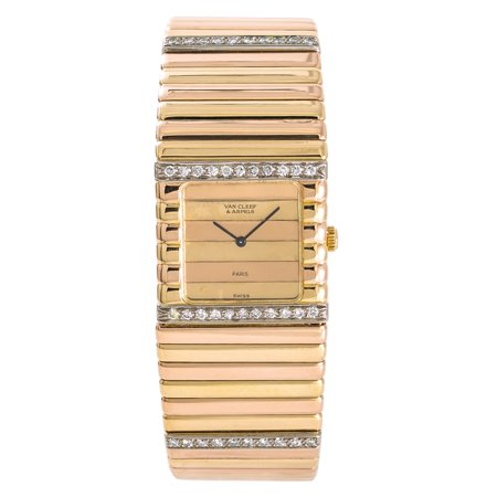 Pre-Owned Van Cleef & Arpels Unknown UNKNOWN Gold 25mm Women Watch (Certified Authentic & Warranty) (Van Cleef And Arpels Watch)