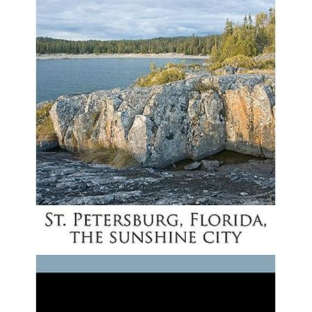 St. Petersburg, Florida, the Sunshine City (Party City St Petersburg)