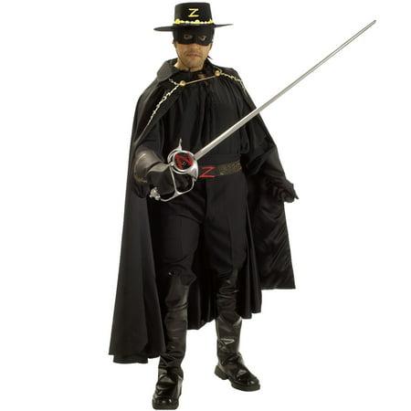 Deluxe Adult Zorro Hat](Zorro Custome)