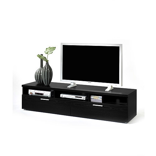 Hayward TV Stand Black Woodgrain, for TVs up to 70;