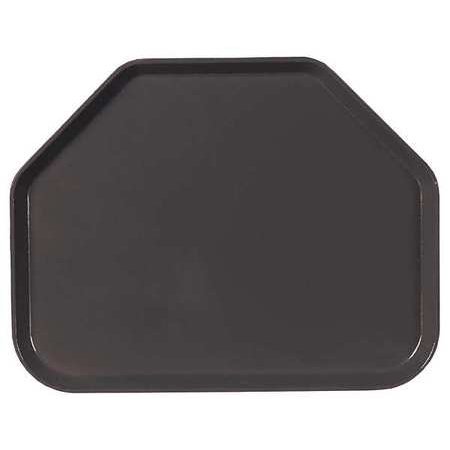 CARLISLE 1713FG004 Glasteel Tray, 14 x 18, Black, PK 12 Carlisle Glasteel Toffee