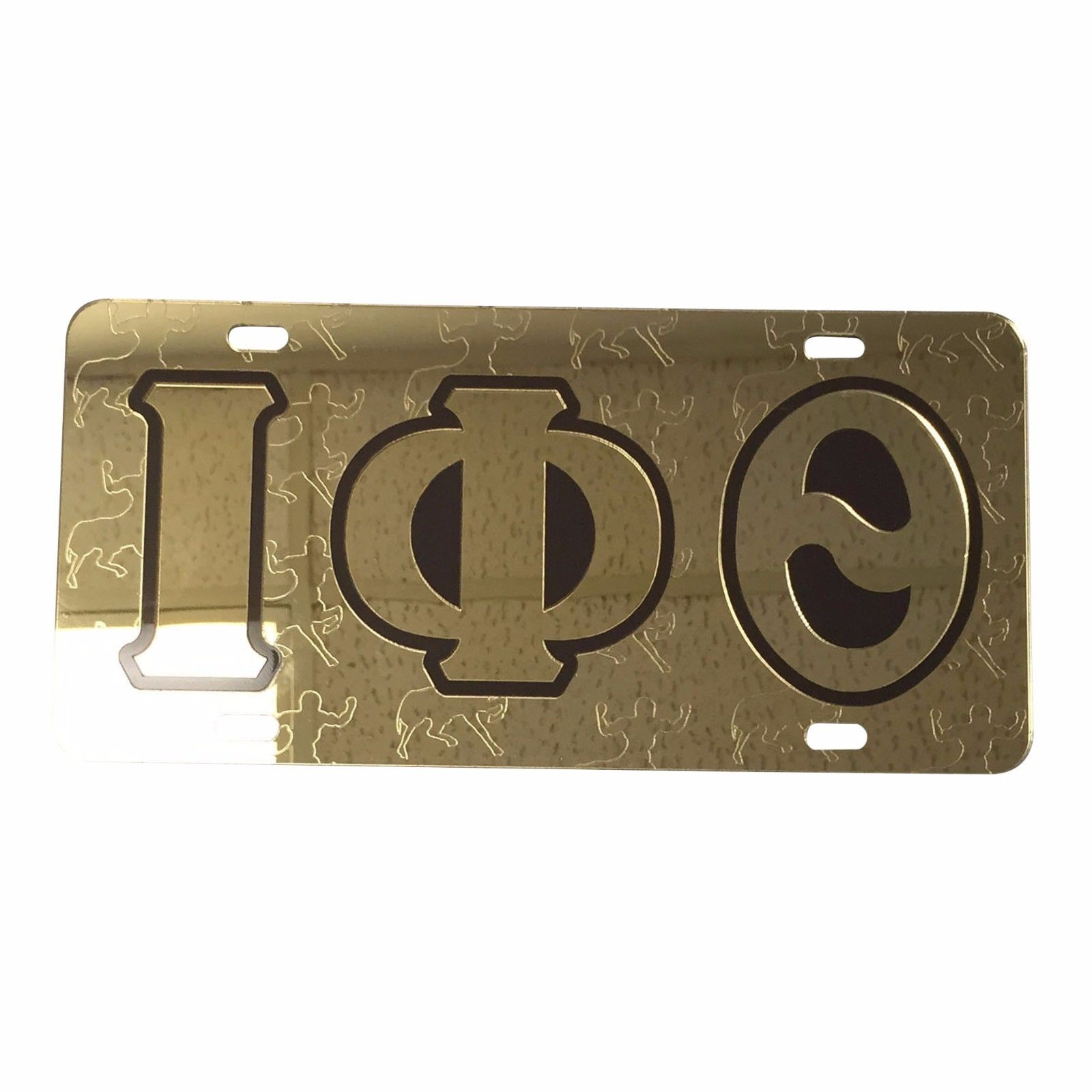 #6107 Iota Phi Theta License Plate Car Tag
