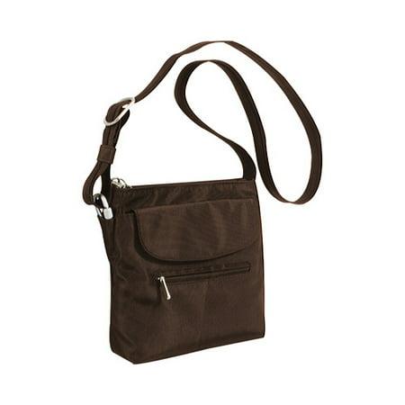 98d8b461af Women s Travelon Anti-Theft Mini Shoulder Bag - Walmart.com