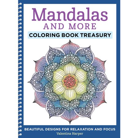 Mandalas and More Coloring Book Treasury - Coloring Pages For Girls 10 And Up