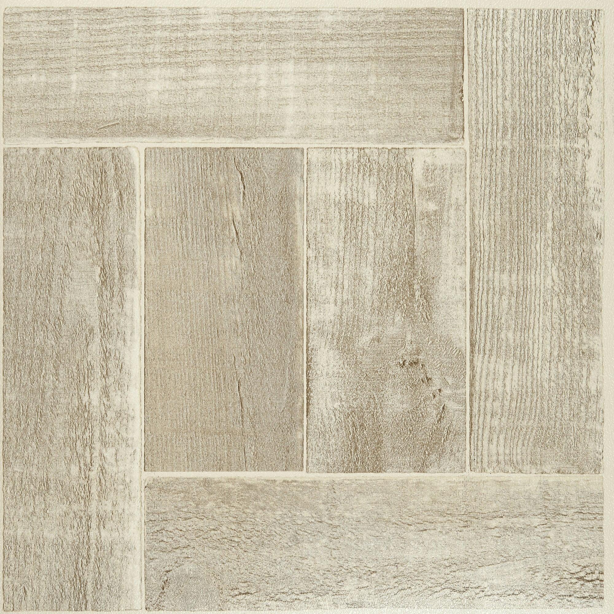 Nexus Saddlewood 12x12 Self Adhesive Vinyl Floor Tile - 20 Tiles/20 ...