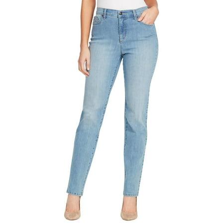 Gloria Vanderbilt Womens Amanda Classic Denim Jeans 12 Short Callisto denim