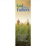 Banner-God Bless Fathers-Green (2' x 6') (Indoor)