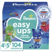 Pampers Easy Ups Boys Training Pants (Choose Size & Count)