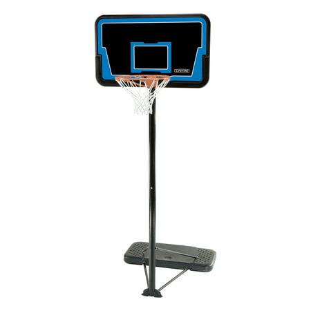 Lifetime Adjustable Portable Basketball Hoop (44-In Impact),
