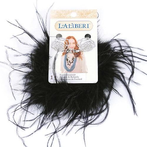 Laliberi Scarf Swag, Feather Boa