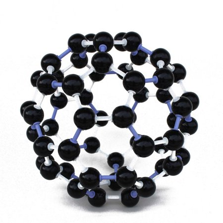 Outtop 23mm Chemistry Teaching Crystal Carbon 60 C60 Atom Molecular Model Set