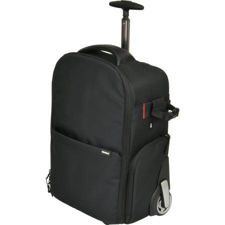 Vivitar Series 1 Trolley Dslr Camera Backpack Case With Wheels Black
