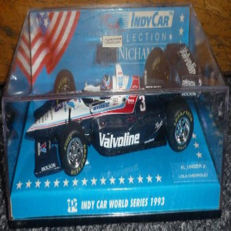 Minichamps Indy Car 1993 Series Al Unser Jr. Valvoline Lo...