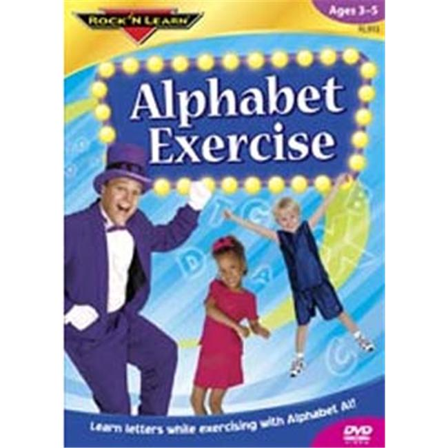 ROCK N LEARN RL-913 ALPHABET EXERCISE DVD