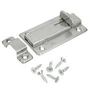 "Stainless Steel 3.7"" Silver Door Bolt Sliding Safety Lock Latch Barrel Bolt"