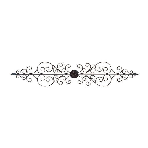 Decmode Metal Wall Plaque, Multi Color by DecMode