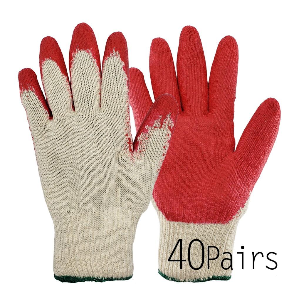 Ladies Small Gardening Work Gloves Latex Dipped Grip Gripper Potting Weeding