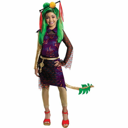 Monster High Jinafire Child Halloween Costume - Typical Halloween Monsters