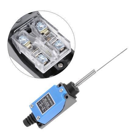 ME-8169 Cat Whisker Flexible Coil Spring Momentary Limit Switch 1NC+1NO - image 4 de 5