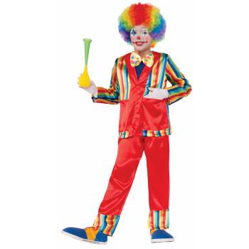 CHCO-FUNNY BUSINESS CLOWN-L (There's No Business Like Show Business Costumes)