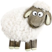 Fluffy Sheep Magnet White Standing-