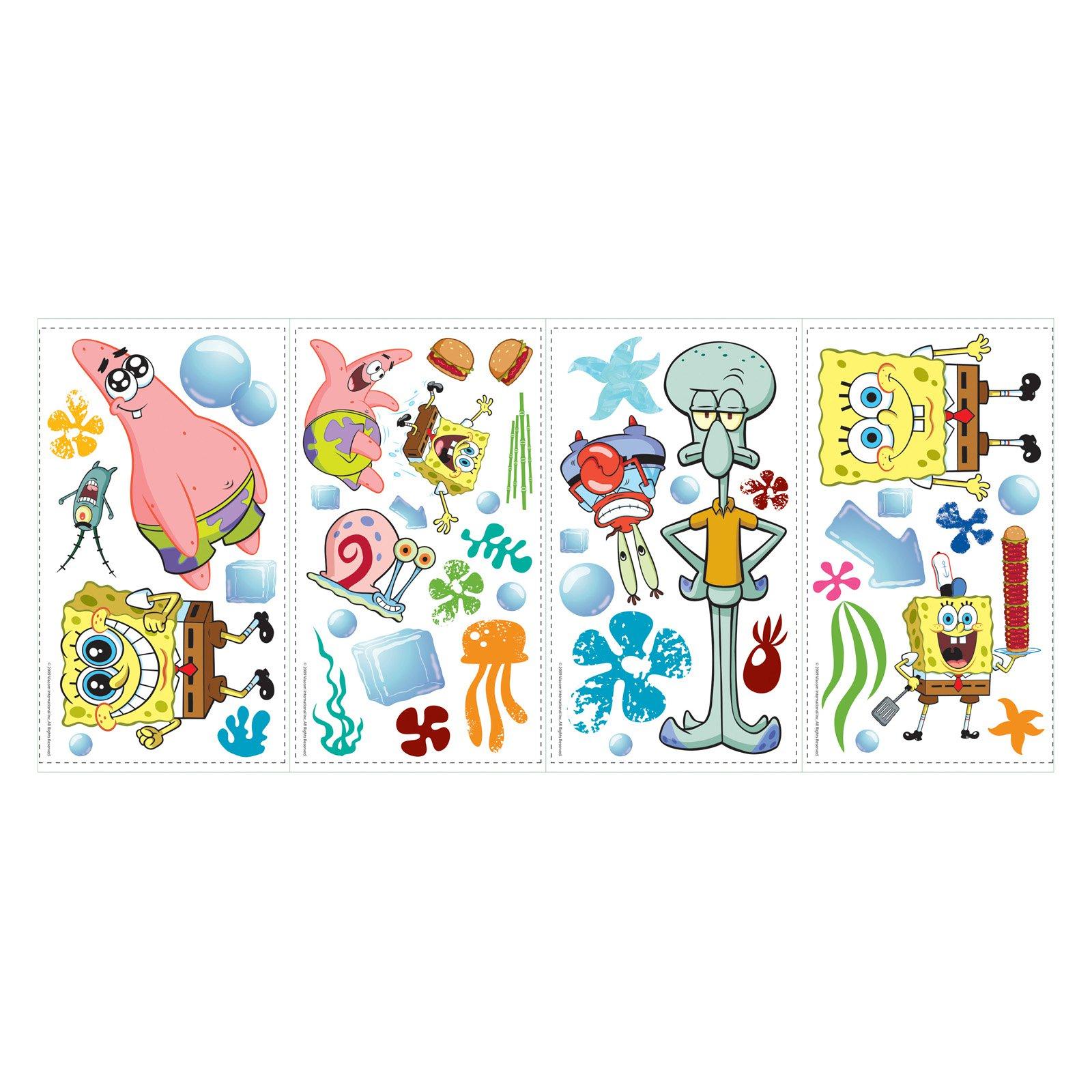 RoomMates SpongeBob SquarePants Peel and Stick Wall Decals