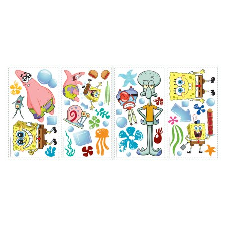 RoomMates SpongeBob SquarePants Peel and Stick Wall - Spongebob Stickers