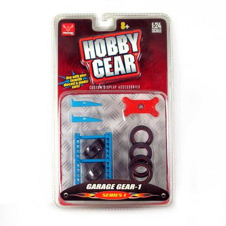 Hobby Gear: 12-PC Garage Accessories Set 1/24 - Hobby Gear