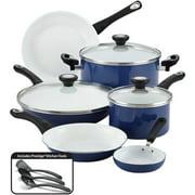 Best Ceramic Cookwares - Farberware 12-Piece PURECOOK Ceramic Nonstick Pots and Pans Review