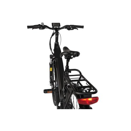 "T4B Pulse Low Step City Bike - Bafang 350W Brushless Electric Motor, 8 Speed, Samsung Li-Ion Battery 36V13Ah, 26"" Tires - Black - image 1 de 12"