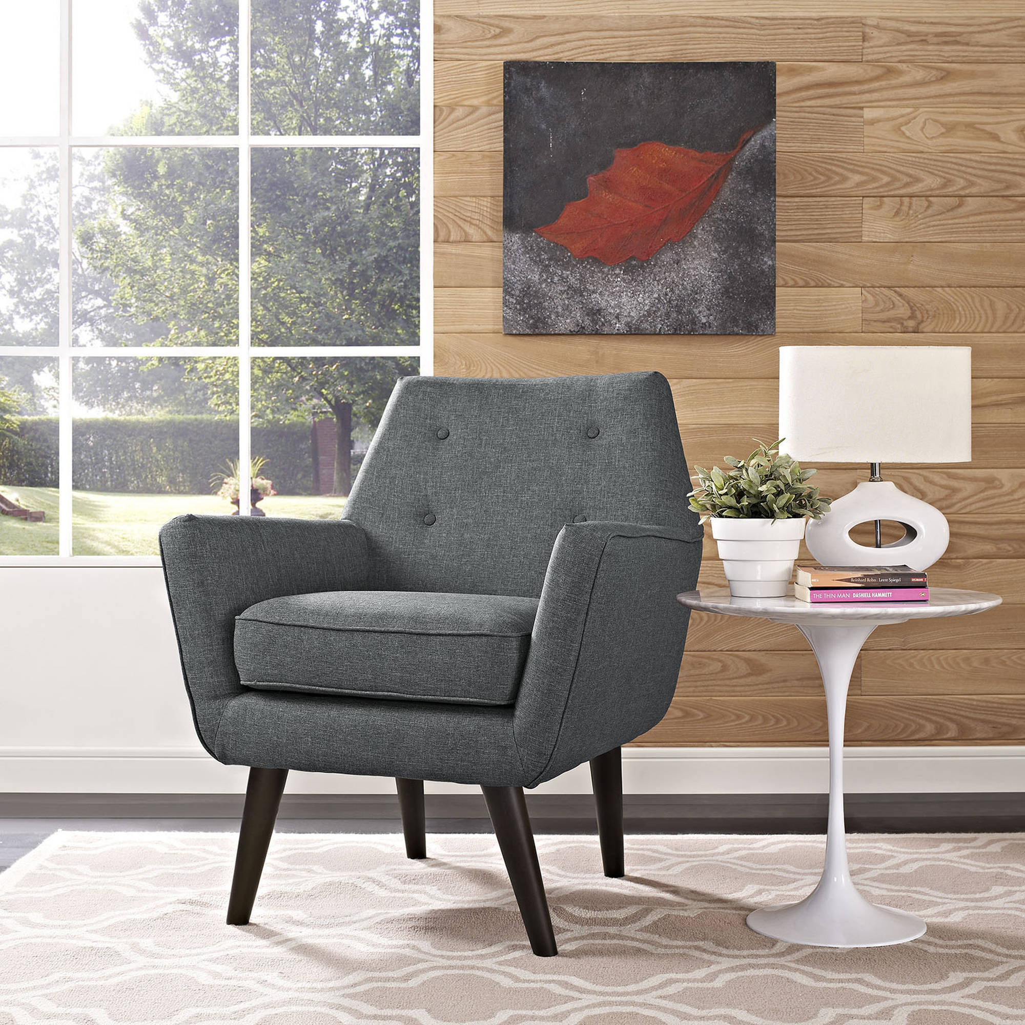 Modway Posit Modern Upholstered Armchair, Multiple Colors by Modway