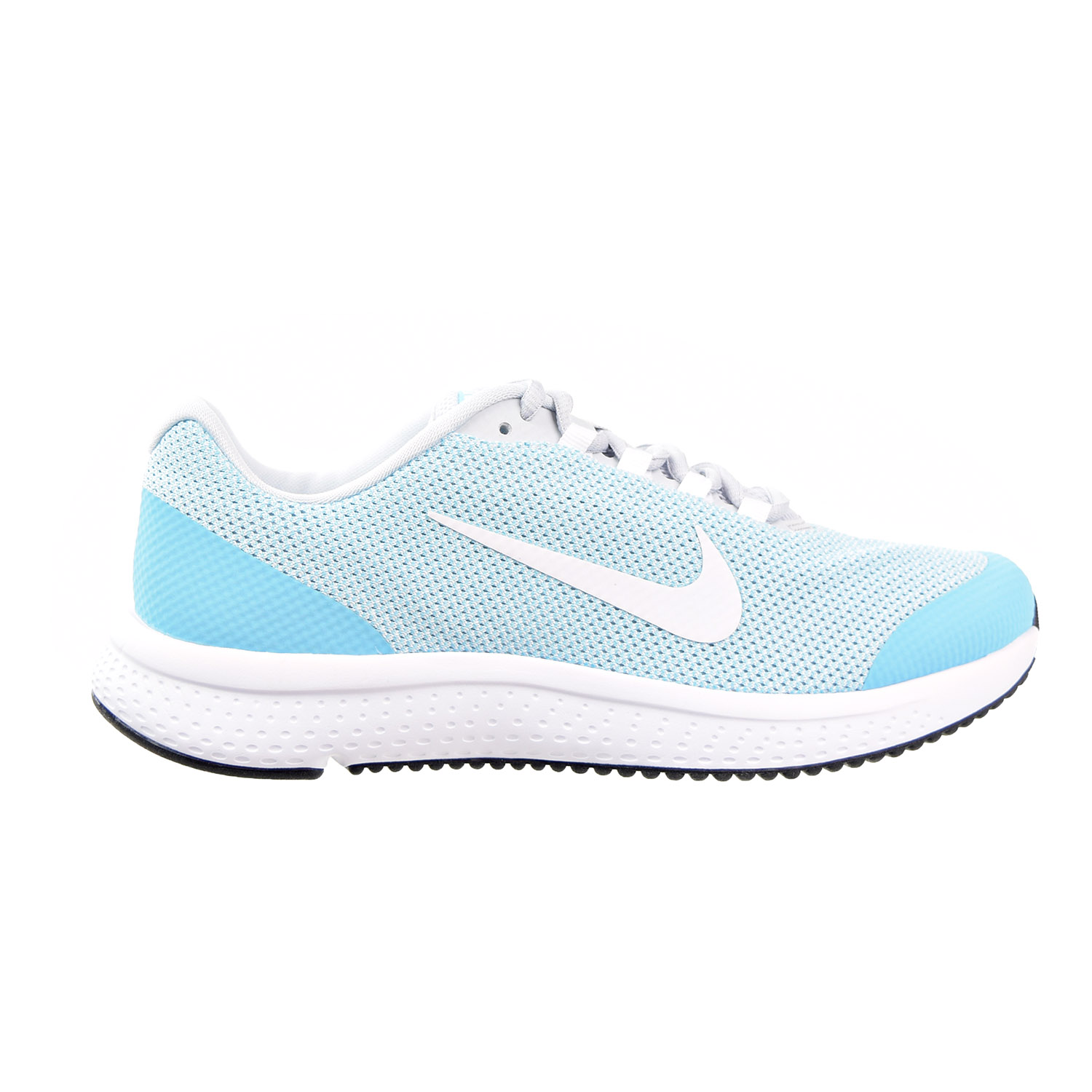Nike Run All Platinum/Wolf Day Women's Shoes Pure Platinum/Wolf All Grey/Polarized Blue 898484-004 cff4b2