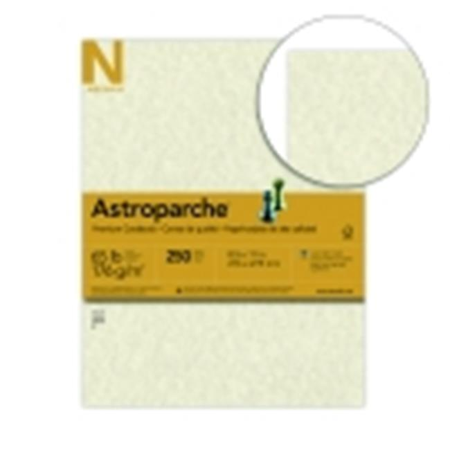 Astroparche 8.5 x 11 in. Paper Premium Card Stock Natural, Pack 250 by Astroparche