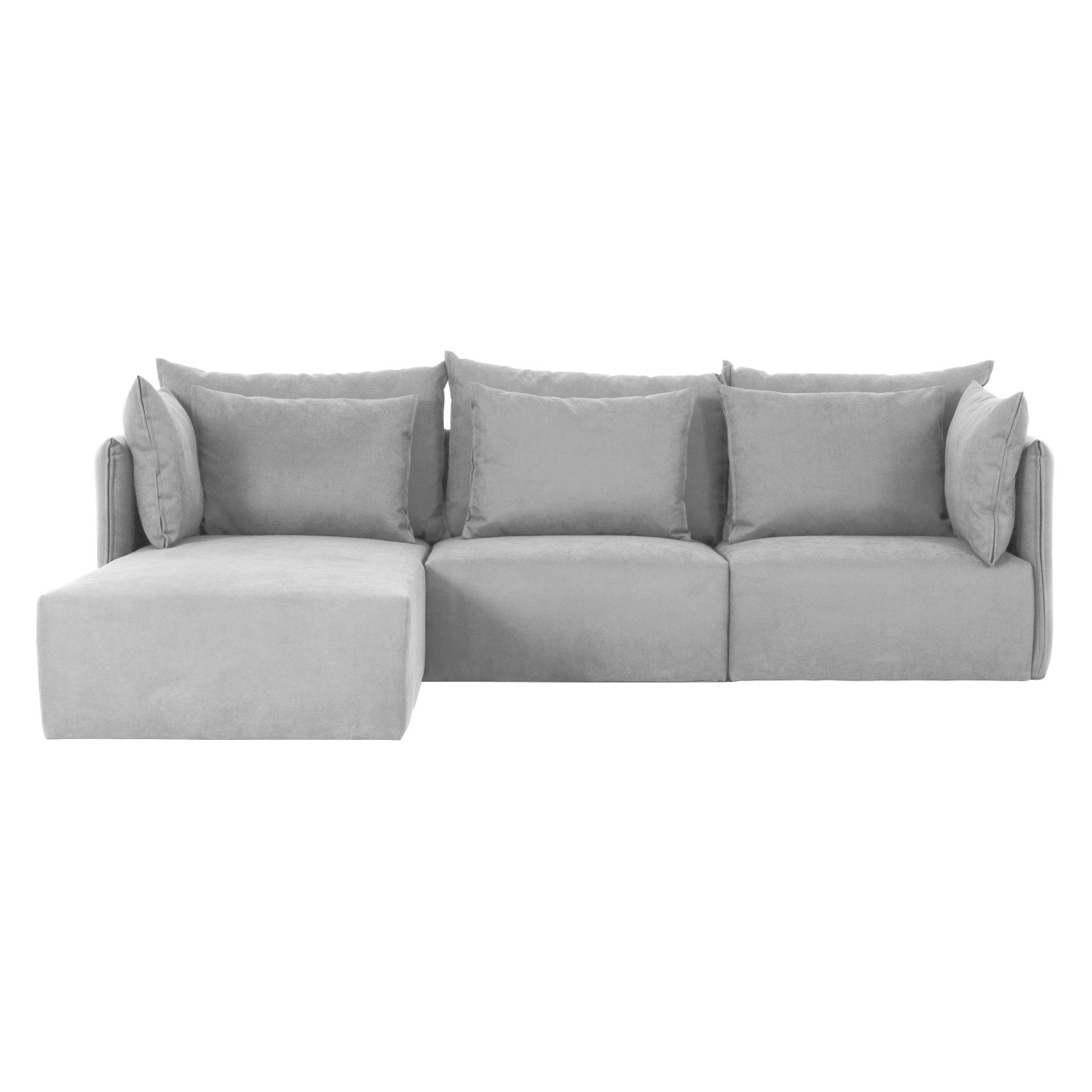 Tema Furniture Dune Sectional Sofa With Chaise   Walmart.com