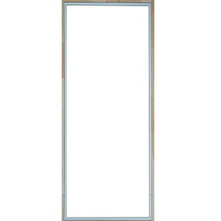 Wrought Iron Glass Doors - Tempered Glass Insert for Screen Storm Door Glass for 34 in. door