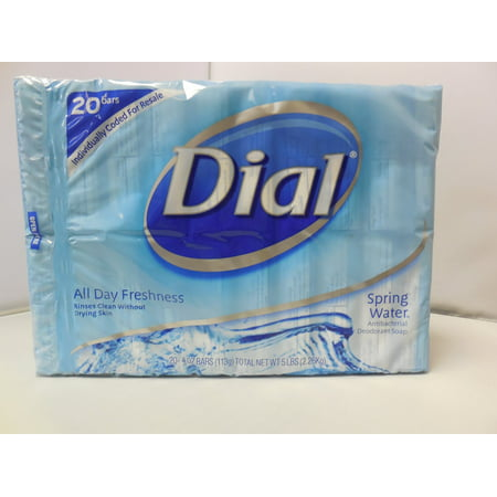 Dial All Day Freshness Spring Water 20 Bars