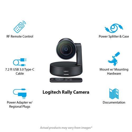 Logitech 960-001226 Rally Motorized 4K Camera Conference Cam