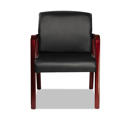 Ebern Designs Barcia Lounge Series Leather Guest Chair