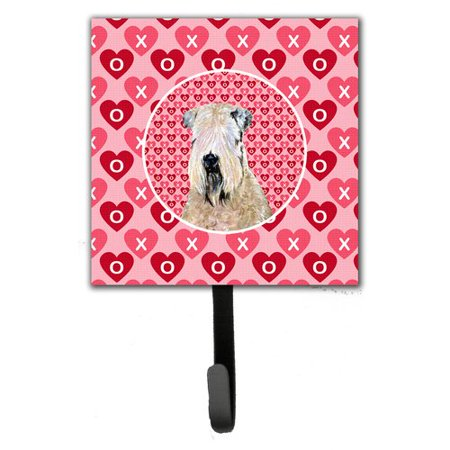 Caroline's Treasures Wheaten Terrier Soft Coated Leash Holder and Wall Hook