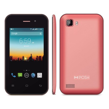 Posh Primo Plus C353 Android 4G Gsm Factory Unlocked Smartphone 3 5  Display  1 3Mp Camera  Pink