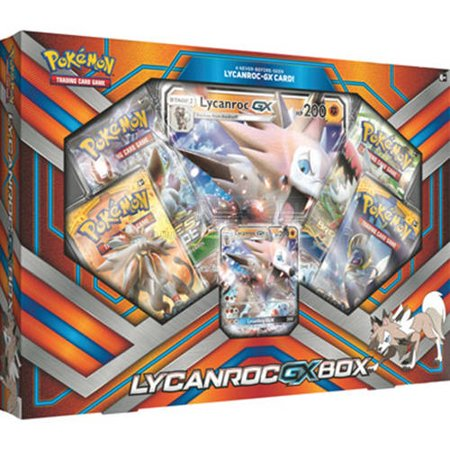 Pokemon Lycanroc GX Box Trading Cards - Pokemon Girl Characters